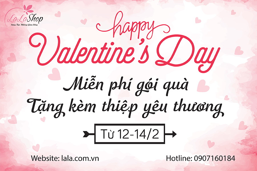 Valentine - Thiệp trao tay- Thay điều muốn nói