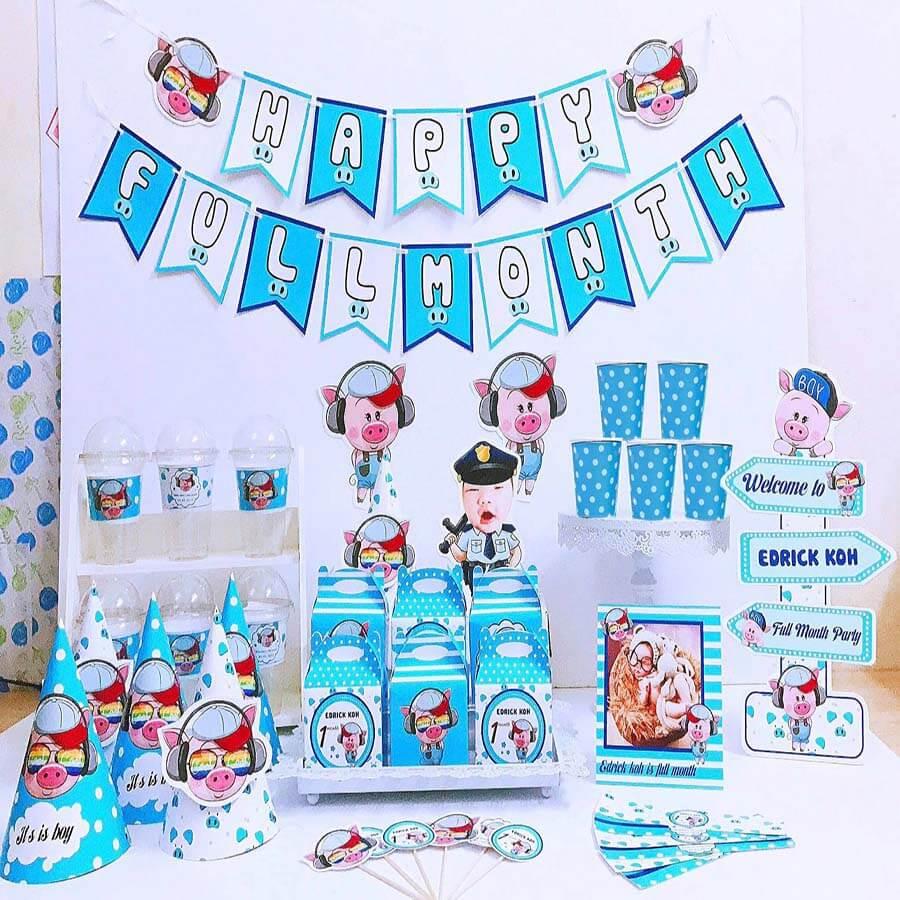 hướng dẫn 5 cách trang trí tiệc sinh nhật cho bé trai đơn giản tại nhà