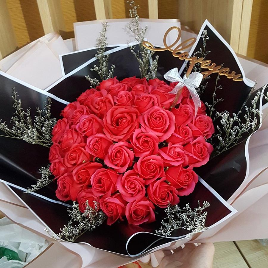 hướng dẫn cách làm hoa hồng sáp thơm vĩnh cửu handmade bằng sáp đèn cầy rất dễ làm