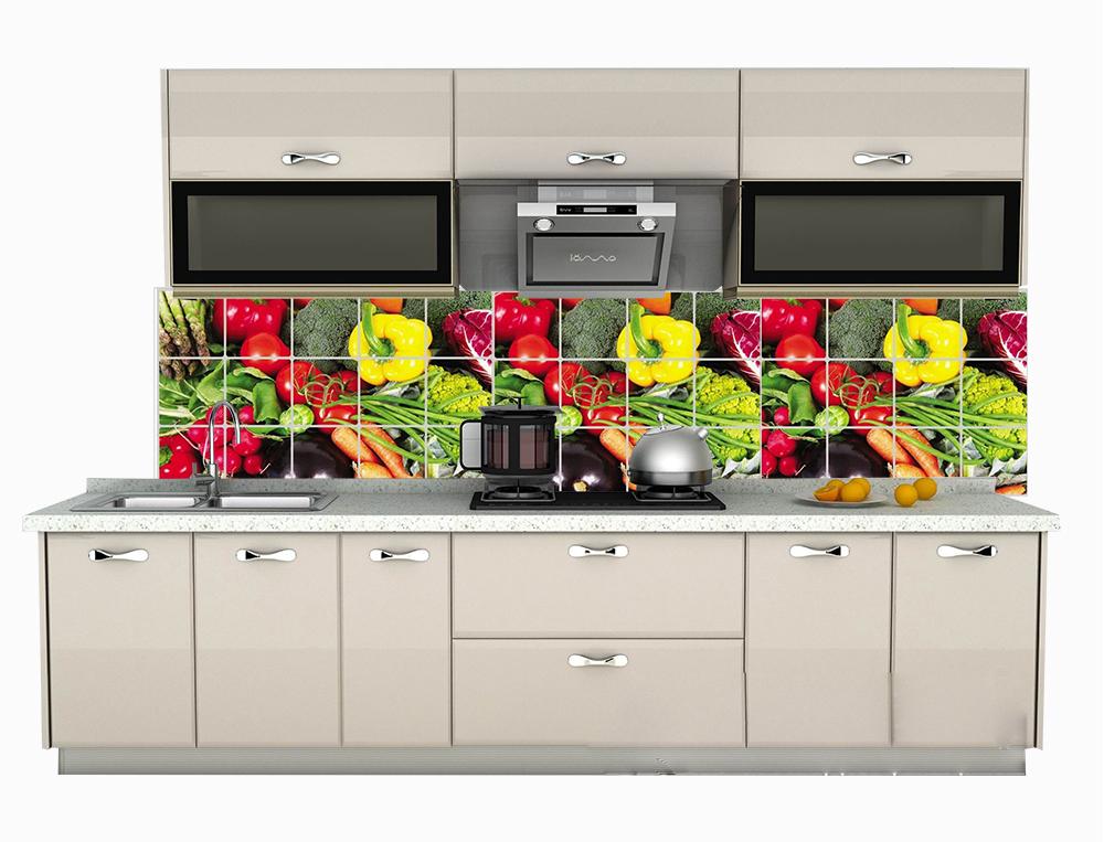 Miếng dán bếp cách nhiệt tiện lợi cho gian bếp sạch sẽ