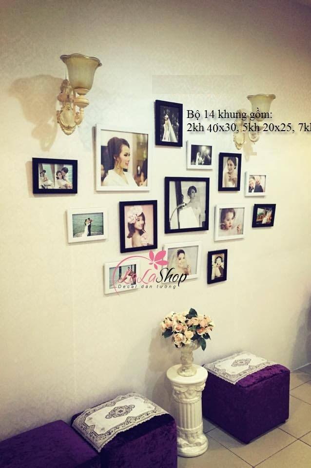 Ngất ngây với cách trang trí phòng cưới bằng khung ảnh siêu đẹp và lãng mạn