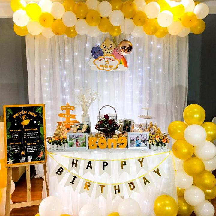 hướng dẫn 10 cách tự trang trí tiệc sinh nhật cho bé gái đơn giản tại nhà