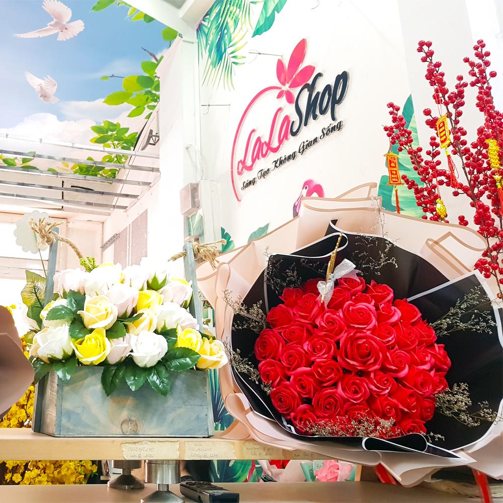 top 10 shop chuyên bán buôn hoa hồng sáp thơm giá sỉ siêu rẻ tại tphcm
