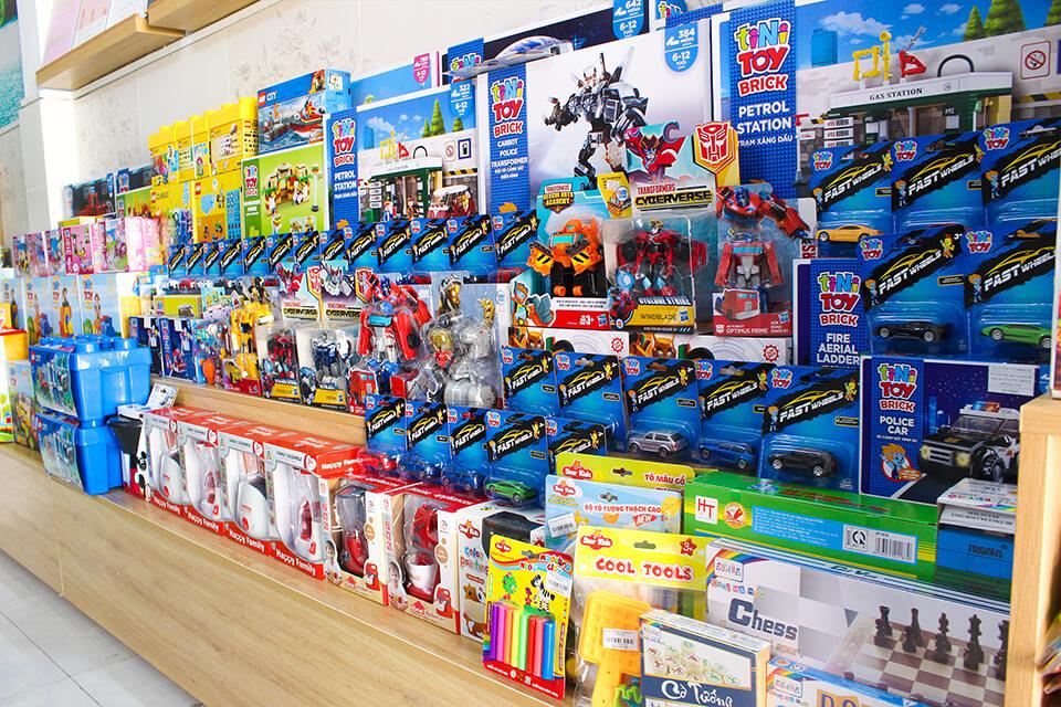 Cửa hàng bán đồ chơi trẻ em giá rẻ đến cao cấp ở tphcm