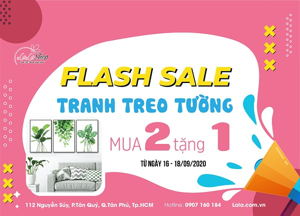 flash sale mua 2 tặng 1