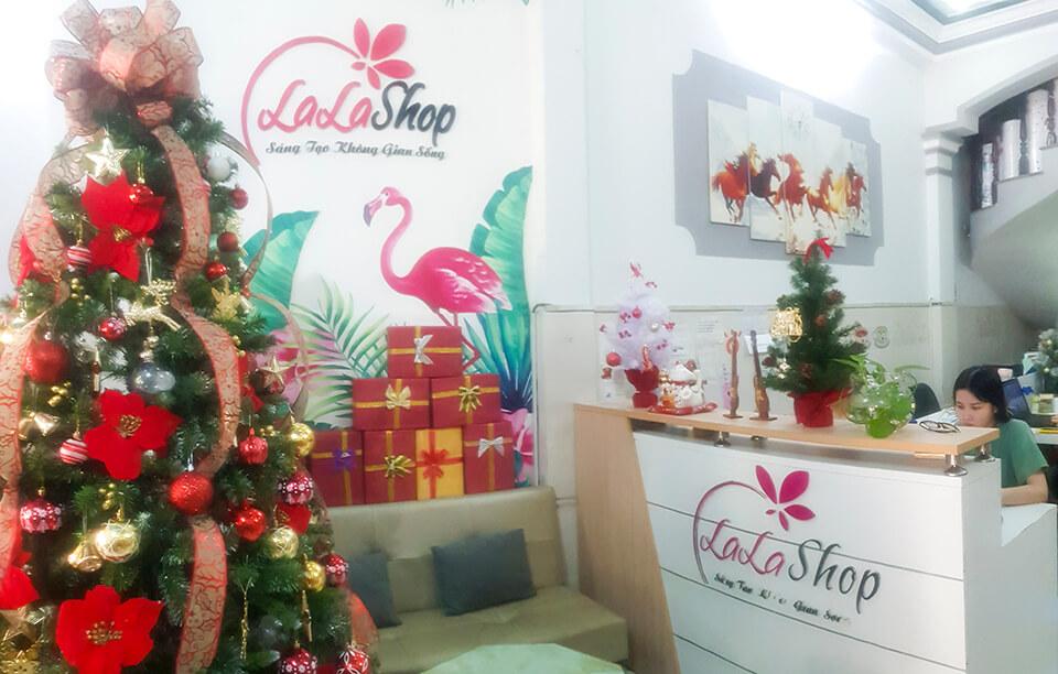 Lala Shop - Cửa hàng bán cây thông và đồ trang trí Noel giá rẻ uy tín tại tphcm