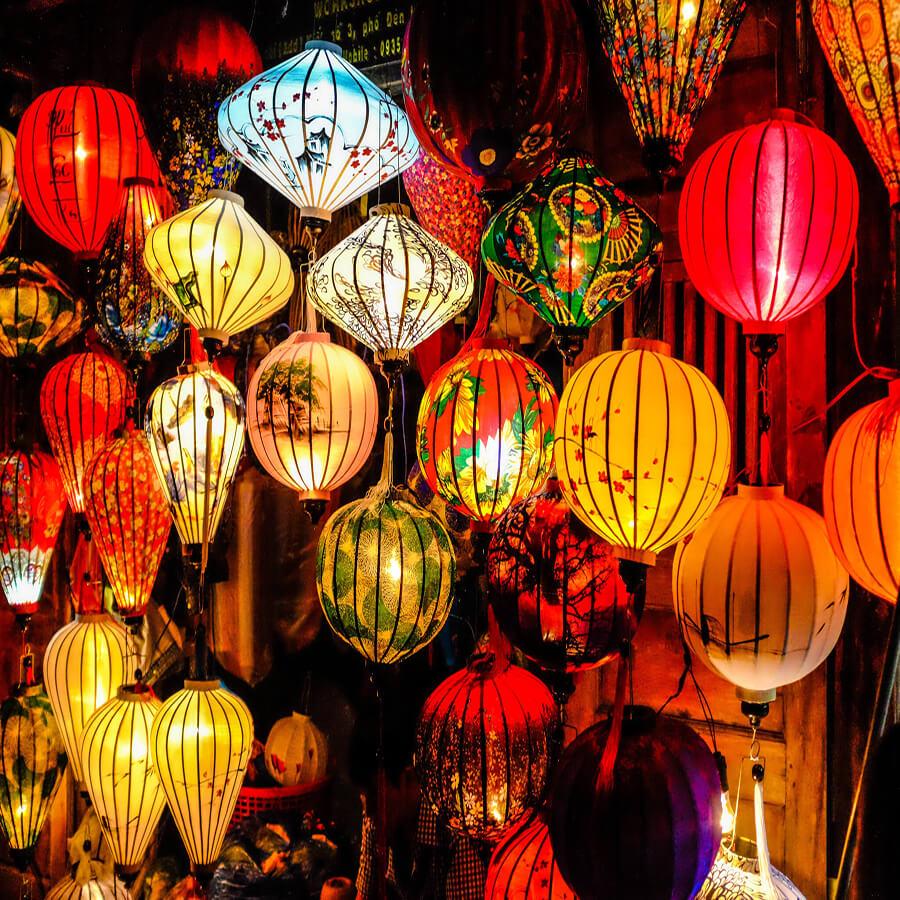 5 cách làm lồng đèn trung thu bằng giấy xếp siêu đơn giản và đẹp nhất 2021