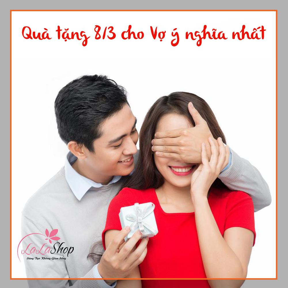 gợi ý 10 món quà tặng mùng 8/3 cho vợ và vợ bầu ý nghĩa nhất 2021