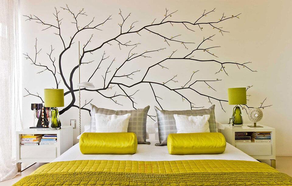 Tranh vẽ tường phòng ngủ sẽ giúp bạn có giấc ngủ ngon nhất