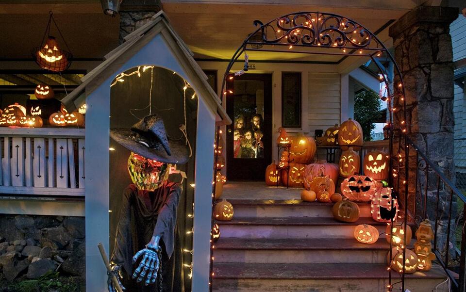 15 cách trang trí halloween rùng rợn vô cùng đơn giản two021